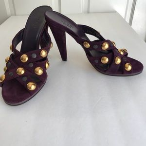 Gucci Studded Sandals Size 39